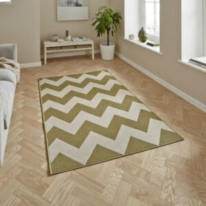 Cottage Green / Beige Rug