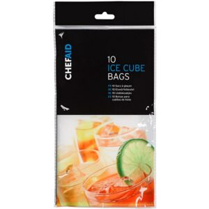 Chef Aid Set of 10 Ice Cube Bags