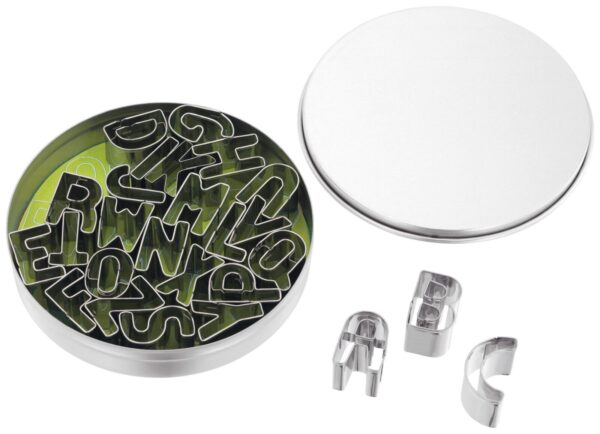 Alphabet Cutters Stainless Steel