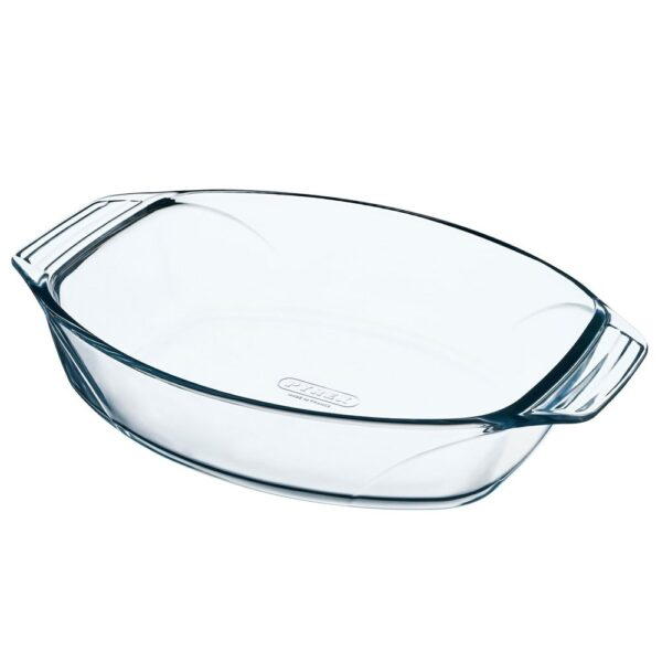 Pyrex Irresistible Glass Oval Roaster