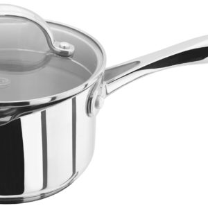 Stellar 7000 Draining Saucepan with Glass Lid