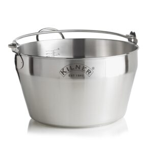 Kilner Stainless Steel Preserving Pan 8 Litre
