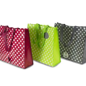 Polka Dot Shopping Bag