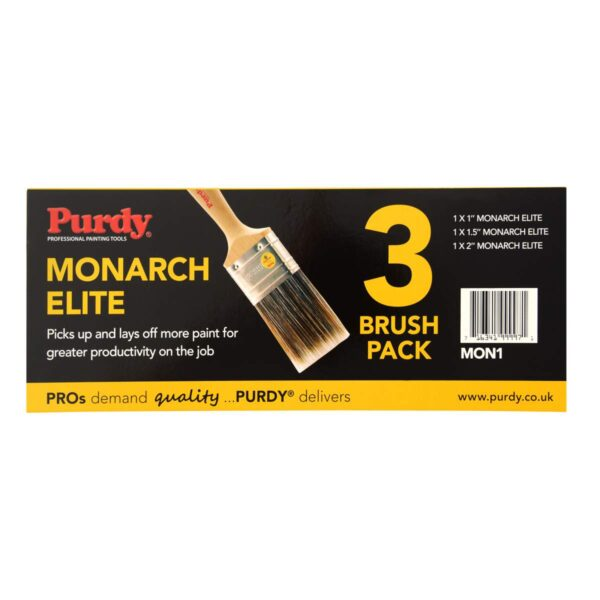Purdy Monarch Elite 3 Brush Pack