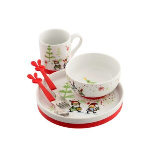 Belleek Aynsley Santa's Helper Set