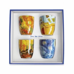 Tipperary Crystal Vincent set of 4 Mugs