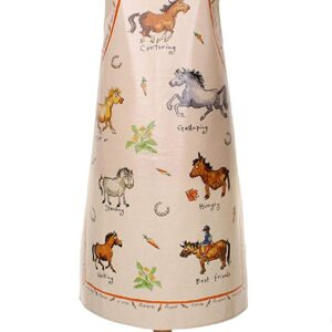 Ulster Weavers Ann Edwards Horsing Around PVC Apron
