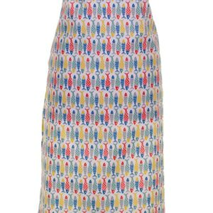 Ulster Weavers Seasalt Schooling Fish Oil Cloth Apron