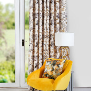 Belvoir Ochre Curtains