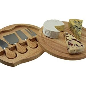 Apollo Housewares Cheese Board Box With 4 Knives