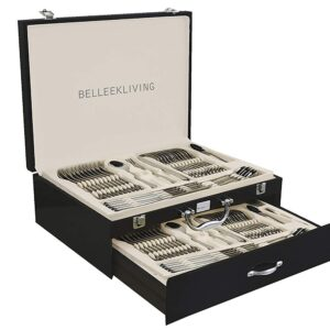 Belleek Living Occasions 72-Piece Cutlery Set