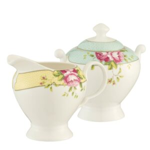 Belleek Aynlsey Sugar & Cream Set