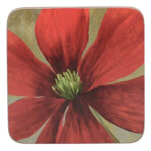 Creative Tops Flower Study Pack Of 6 Coasters