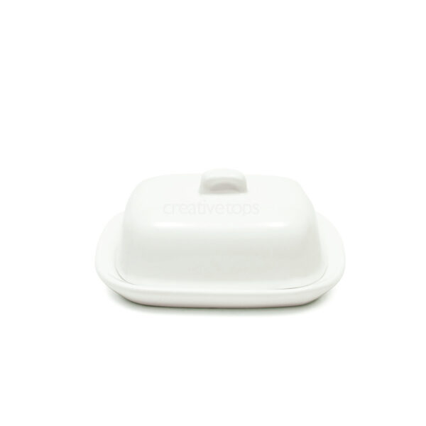 Maxwell & Williams White Basics 10Cm Butter Dish