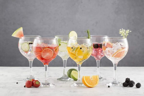 Ravenhead Set Of 6 Gin Balloon Glasses
