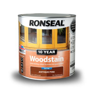 Ronseal 10 Year Wood Stain Satin
