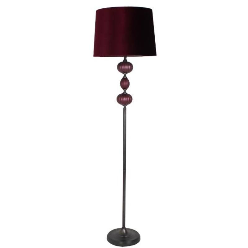 Floor Lamp Purple
