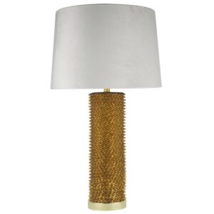 Fern Cottage Gold Table Lamp