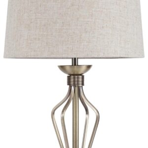 TL8525 Antique Brass Table Lamp.
