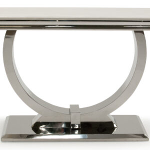 Arianna Console Table Cream Marble Top
