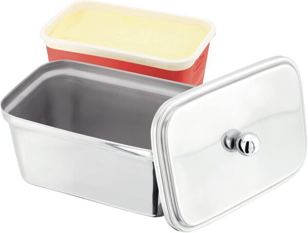 Judge Stainless Steel Butter Dish