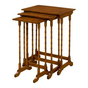Mahogany nest of tables