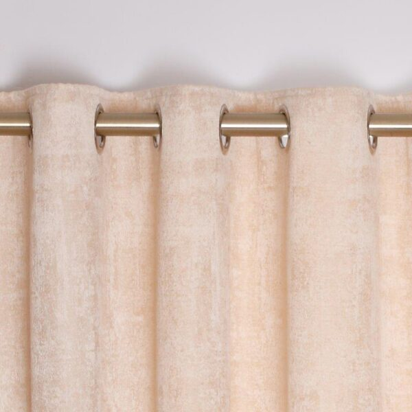 Fiesta Interlined Eyelet Curtains - Champagne