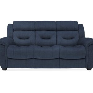 Dudley 3 Seater Fixed - Blue