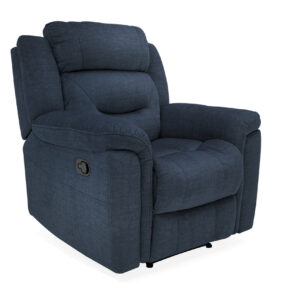 Dudley 1 Seater Reclining - Blue
