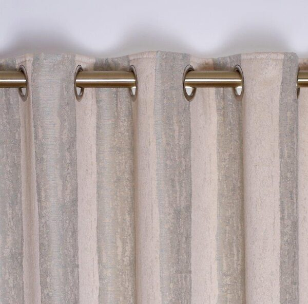 Toulon Interlined Eyelet Curtains - Duckegg
