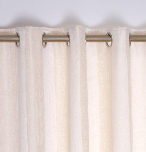 Toulon Interlined Eyelet Curtains - Ivory
