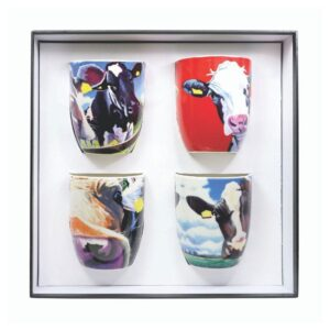 Eoin O Connor by Tipperary Crystal Set of 4 Mugs