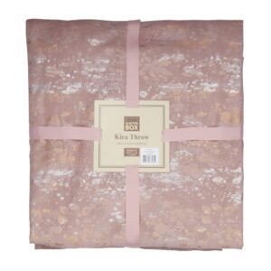 Kira Antique Rose Throw