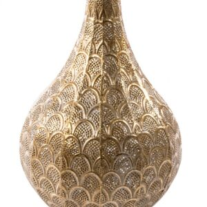 Casablanca Teardrop Table Lamp Gold