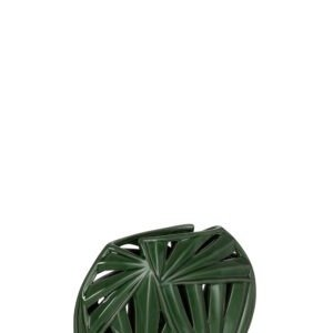Oval Vase Tropical Ceramic Green