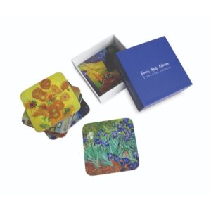This set comes from our new Famous Artists Collection; all comewonderfully presented in rigid gift boxes from Tipperary Crystal.