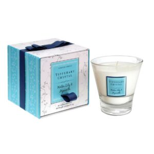 Tipperary Crystal Water Lily and Hyacinth Scented Candle