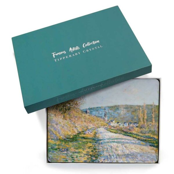 Tipperary Crystal Claude Monet Set of 6 Placemats