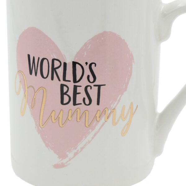 Worlds Best Mummy Stoneware Mug