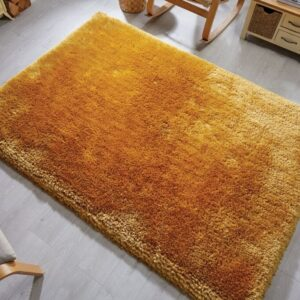 Pearl Supersoft Rug Mustard