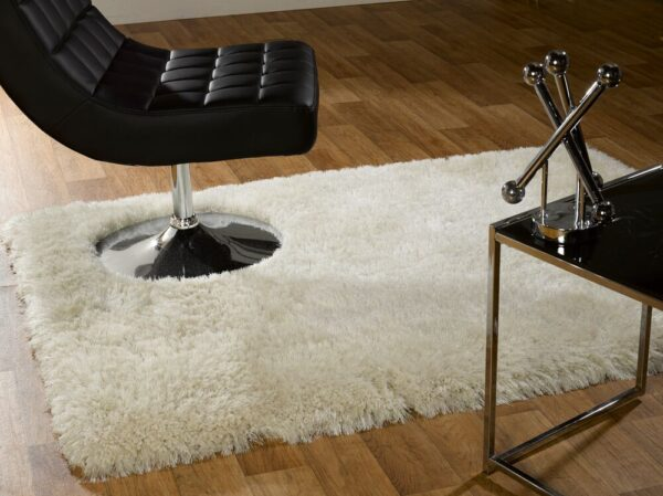 Pearl Supersoft Rug White