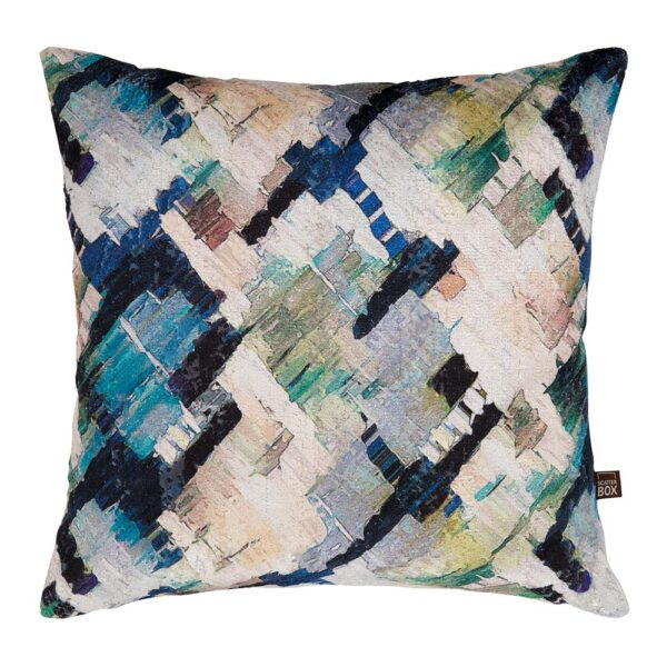 Scatterbox Axel Cushion - Blue/Green