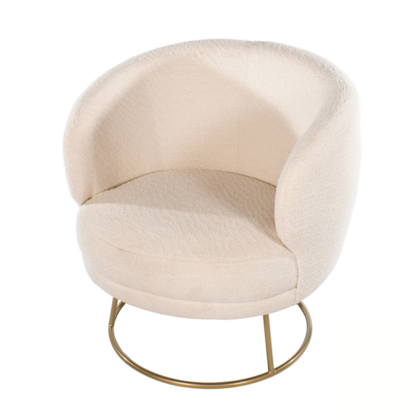 Mona Accent Chair Ivory