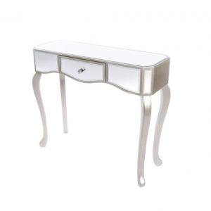 Reflections 1 Drawer Console W/Curved Leg