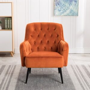Miley Loung Chair - Harvest Pumpkin