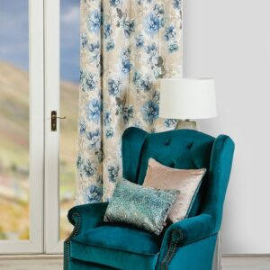 Scatterbox Ava Curtain - Azure
