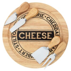 Cheese Board Board And Knife Set